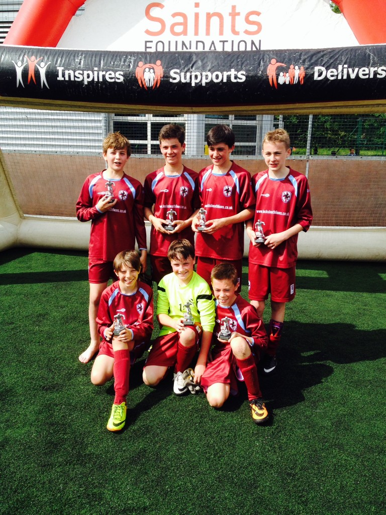 U12's Blues - Runners up